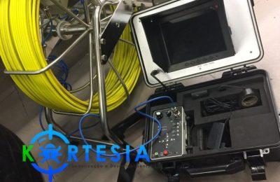 Vídeo inspeção de redes de esgoto, prumadas, shafts, elevadores e etc.